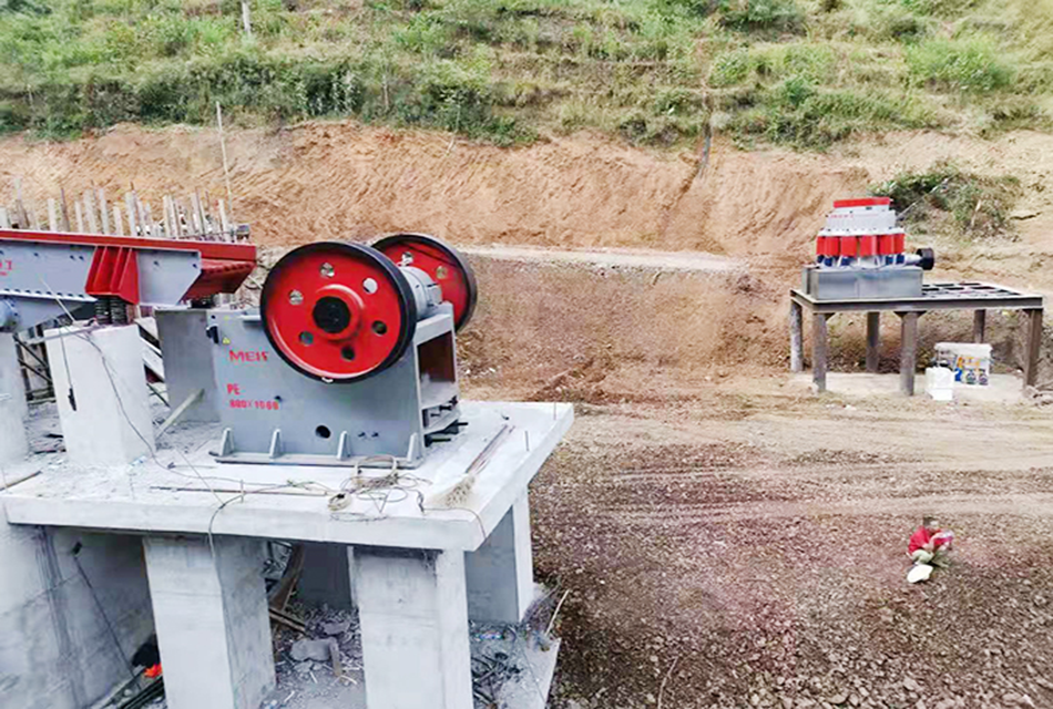 云南昭通时产120吨鹅卵石机制砂生